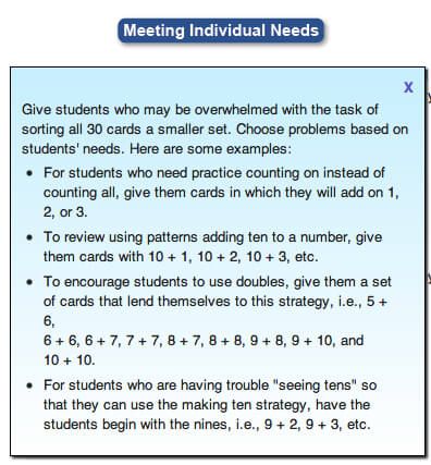 instructional approaches for math