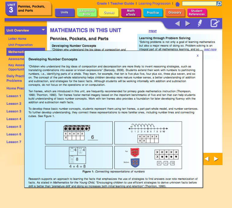 Mathematics in This Unit in Unit Overview