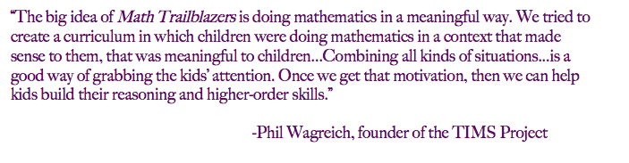 Mathematics in a Meaningful Way