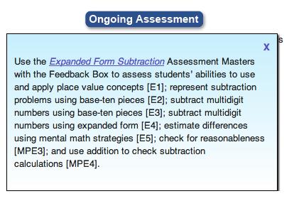 2nd Grade Ongoing Assessment Box