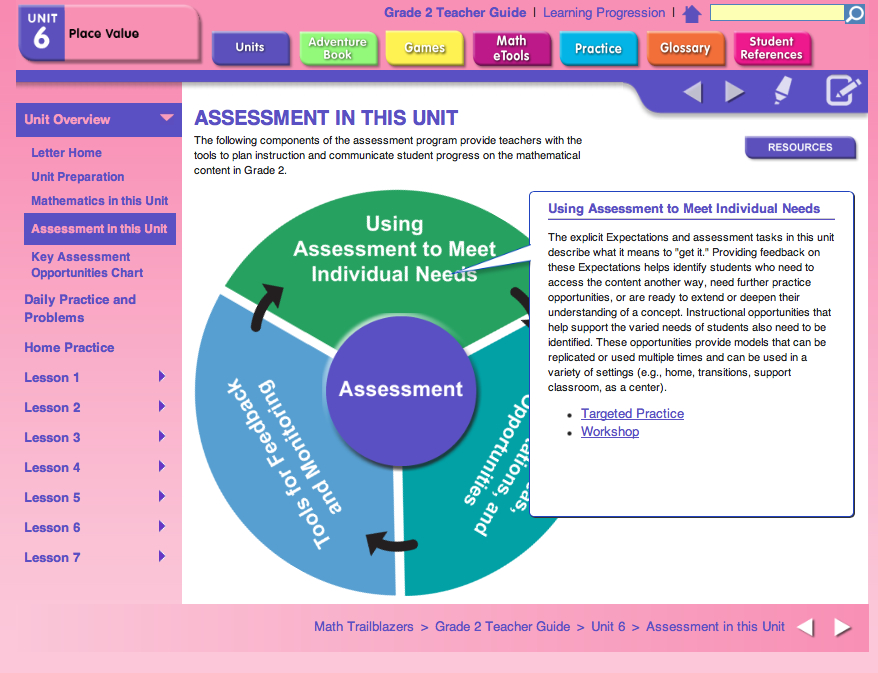 Assessment Components for 2nd Grade Place Vlaue Unit