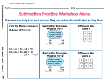 Workshops Offer Differentiated Practice