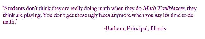 Math Trailblazers is Fun